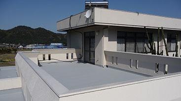 屋上防水施工例